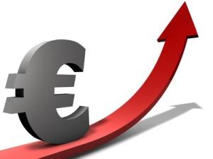 Euro Anstieg