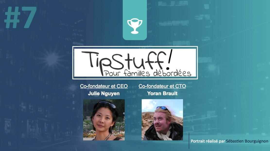 Portrait de startuper #7 - TipStuff - Julie Nguyen - Yoran Brault - par Sébastien Bourguignon