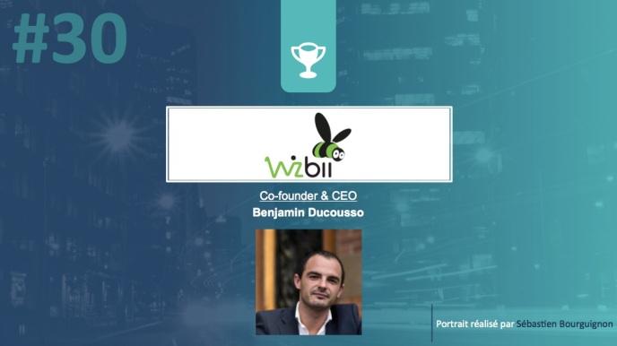 Portrait de startuper #30 - Wizbii - Benjamin Ducousso - par Sébastien Bourguignon