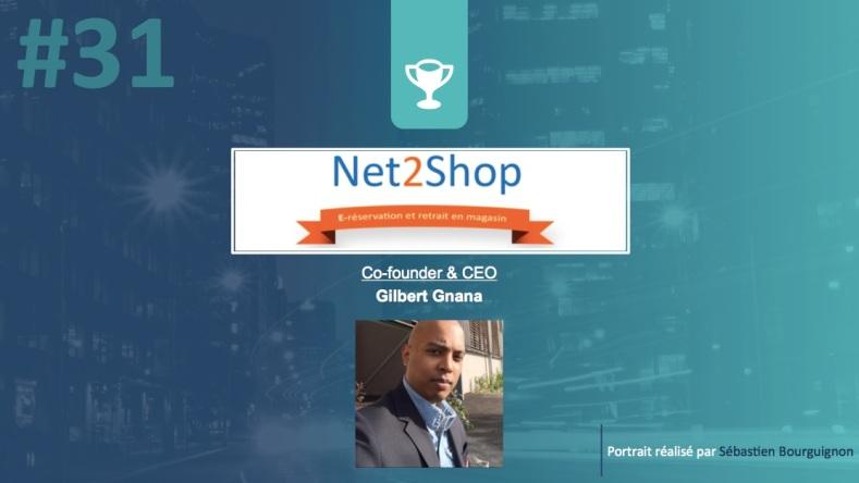 Portrait de startuper #31 - Net2shop - Gilbert Gnana - par Sébastien Bourguignon