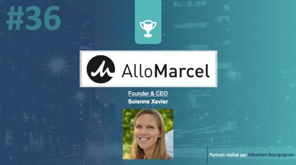 Portrait de startuper #36 – AlloMarcel – Solenne Xavier - par Sébastien Bourguignon