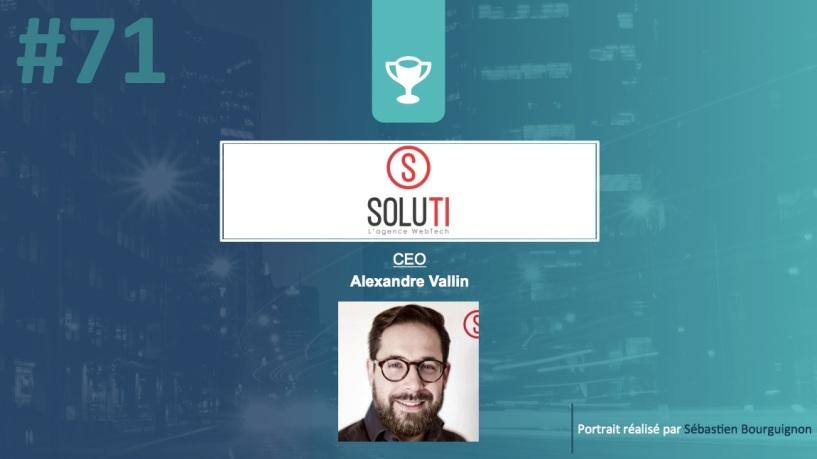 Portrait de startuper #70 - Soluti - Alexandre Vallin - par Sébastien Bourguignon