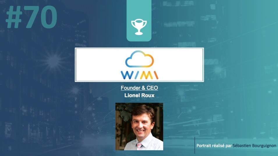 Portrait de startuper #70 - Wimi - Lionel Roux - par Sébastien Bourguignon